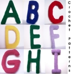crochet alphabet letters patterns