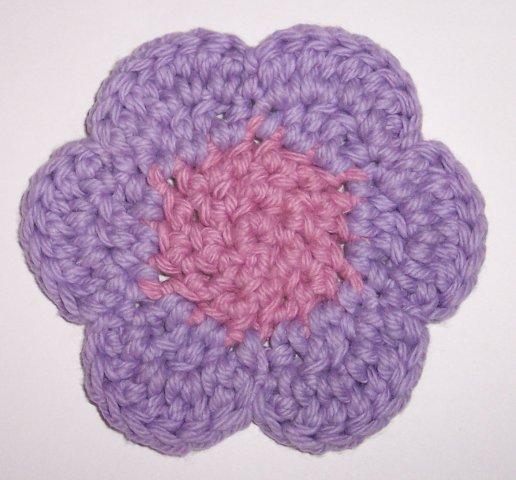 Free Online Crochet Patterns For Coasters : Crochet flower coaster pattern Lauras Left Hook