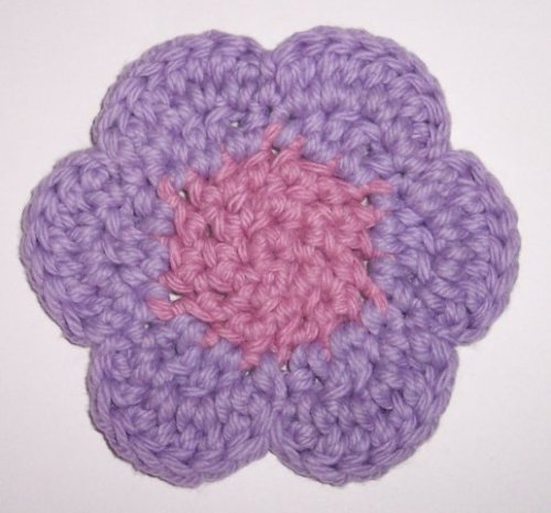 Crochet Patterns K Hook : Crochet flower coaster pattern Lauras Left Hook