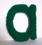 green lowercase A Lovely Little Letter