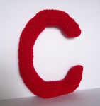 red C Lovely Little Letter