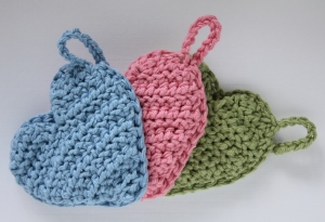 Tawashi Scrubbies for kitchen and bath