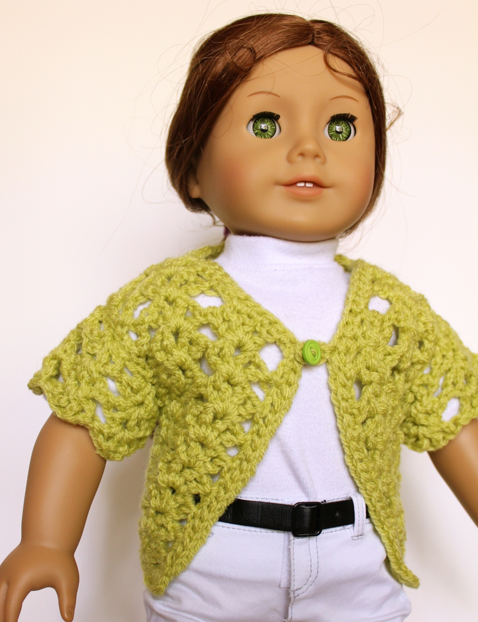 American Girl doll sweater | Laura\'s Left Hook